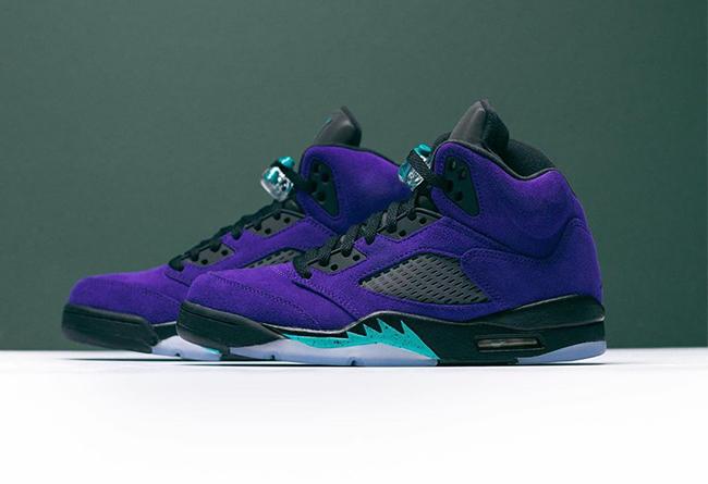 "Air Jordan 5 ""Alternate Grape""发售价格"