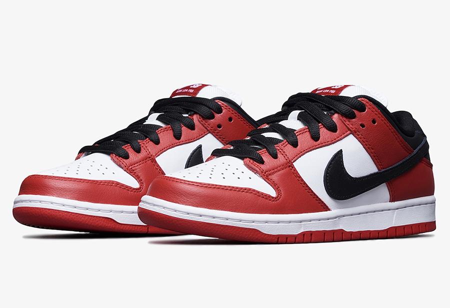 """Nike Dunk SB Low """"Chicago""""实物图片"""