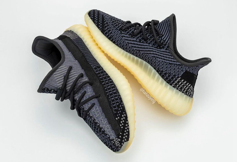 "adidas Yeezy Boost 350V2 ""Carbon""10月2日发售"