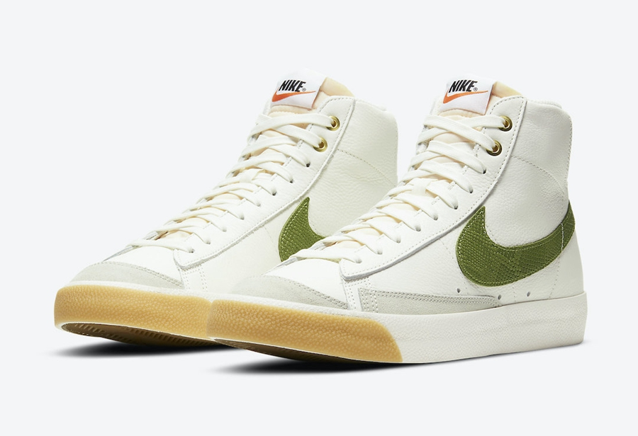 Nike Blazer Mid'77谍照欣赏