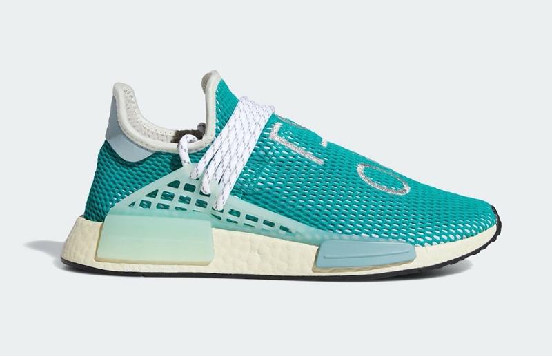 "Pharrell x adidas NMD Hu ""Dash Green""10月25日发售"