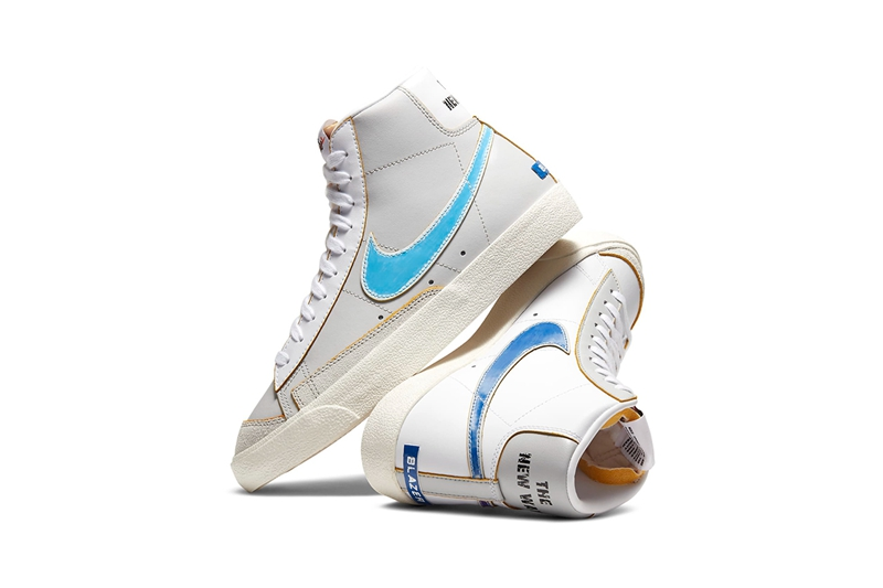 "Nike Blazer Mid '77 ""Label Maker""实物图"