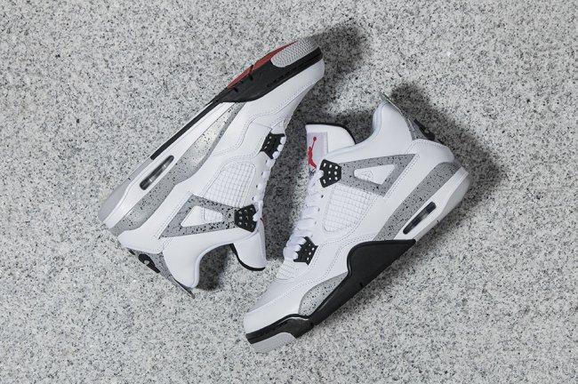 """Air Jordan 4 """"White Cement""""  5月29日发售"""
