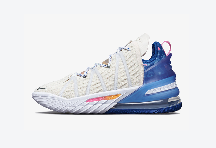 "Nike LeBron 18 ""Los Angeles By Day""11月6日发售"