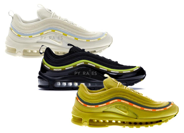 Undefeated x Nike Air Max 97发售日期及价格
