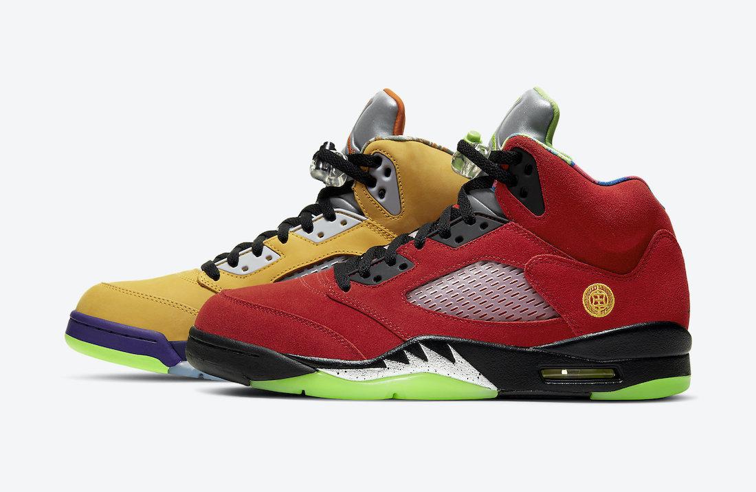 "Air Jordan 5 ""What The""11月12日发售"