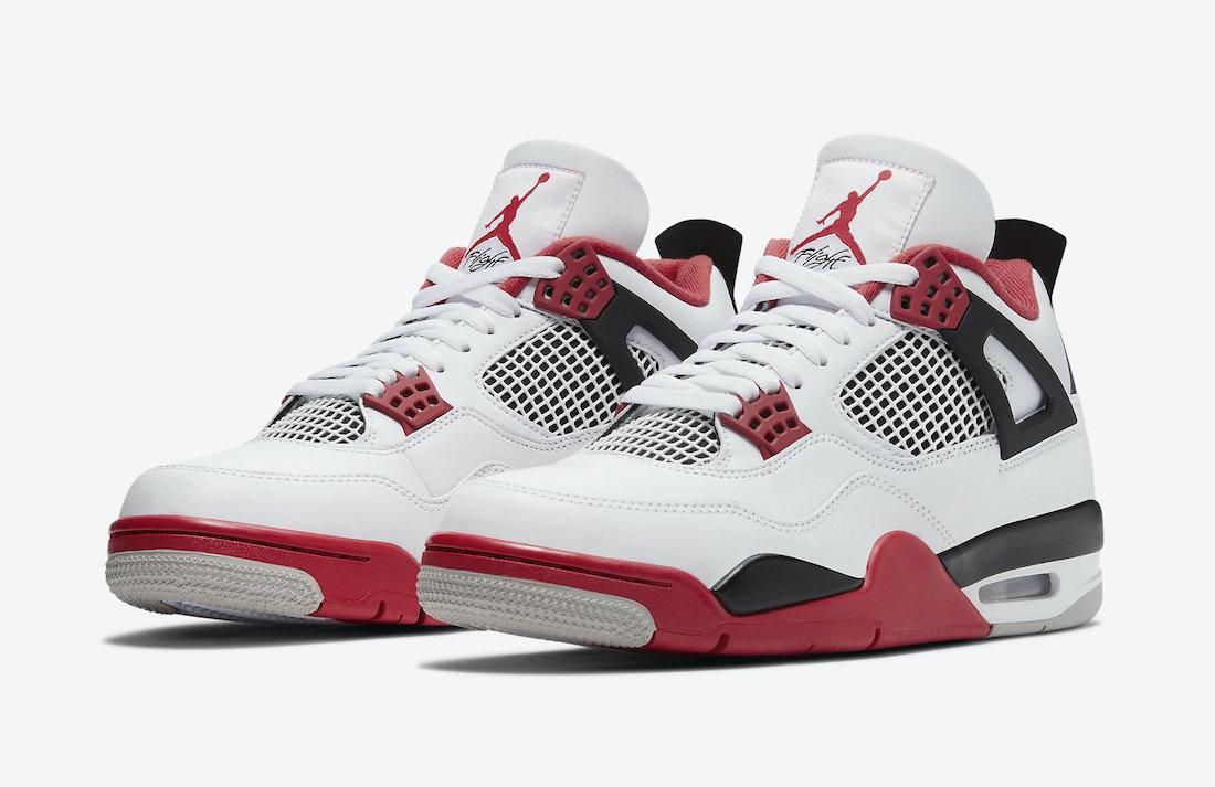 "Air Jordan 4 ""Fire Red""11月28日发售"