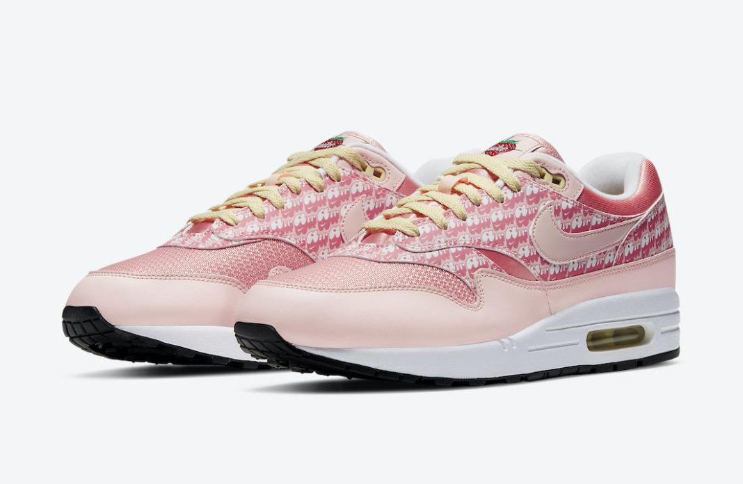 "Nike Air Max 1 ""Strawberry Lemonade""11月12日发售"