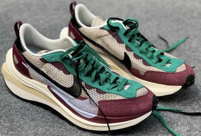 sacai-Nike Vaporwaffle 12月17日发售