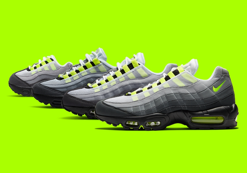 """Nike Air Max 95 """"Neon""""12月17日发售"""