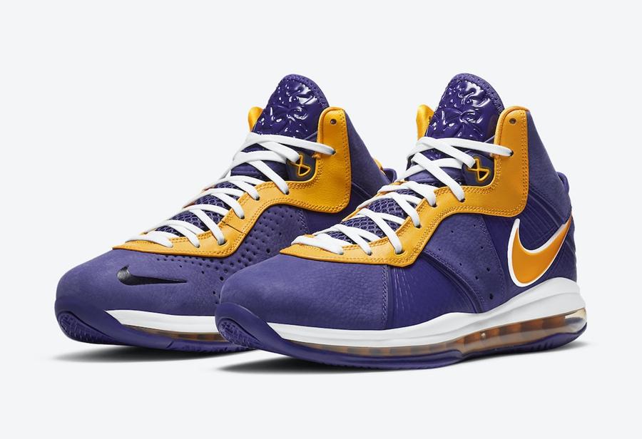 "Nike LeBron 8 ""Lakers""12月15日发售"