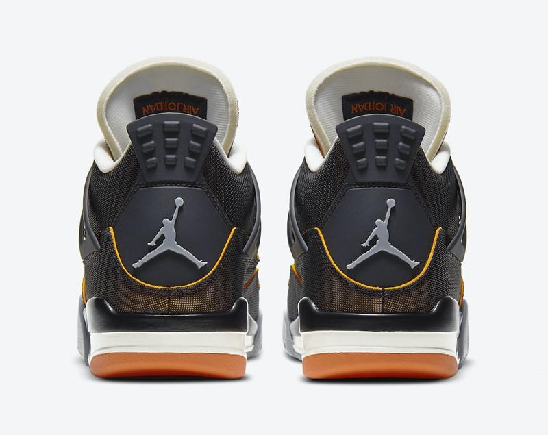 AJ,AJ4,Air Jordan 4,WMNS,CW718  鞋面暗藏玄机!全新海星配色 AJ4 官图释出!