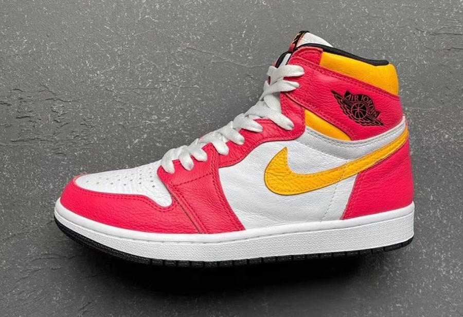 "Air Jordan 1 ""Light Fusion Red""6月21日发售"