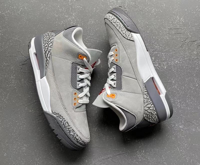 Air Jordan 3,AJ,AJ3,Cool Grey,  十四年首次复刻!「酷灰」Air Jordan 3 发售信息有了!