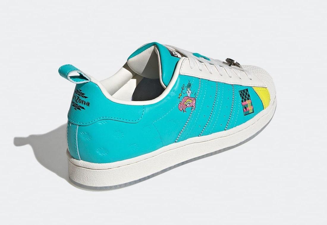 Arizona Iced Tea,adidas,Supers  亚利桑那冰茶联名!这双「贝壳头」好看到想喝掉!