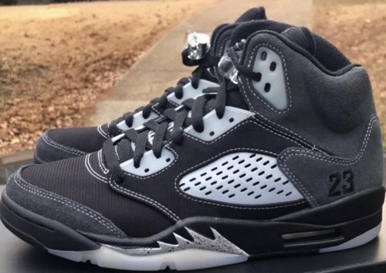 "Air Jordan 5 ""Anthracite""2月24日发售"