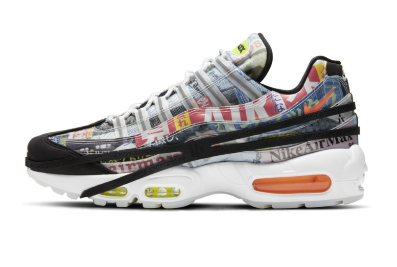 "Nike Air Max 95 ""Japan""3月26日发售"