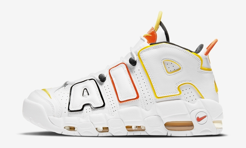 "Nike Air More Uptempo ""Rayguns""谍照"
