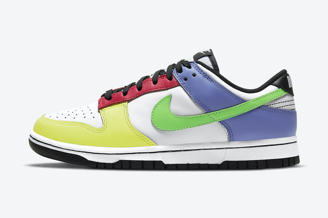 "Nike Dunk Low WMNS ""Green Strike""3月15日发售"
