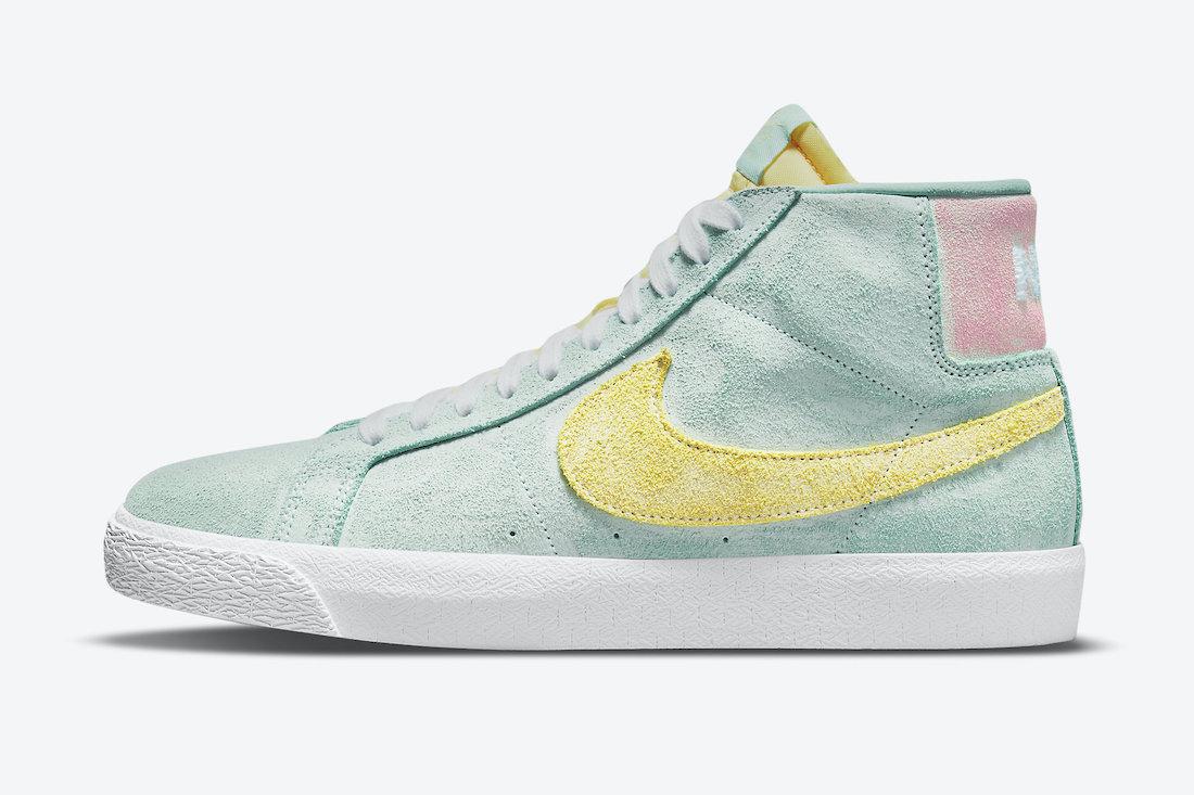 "Nike SB Blazer Mid ""Faded""发售时间及价格"